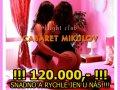 120.000,- SNADNO A RYCHLE JEN U NÁS!