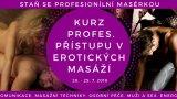 Kurz profi. masáží Erot., BDSM a Tantra